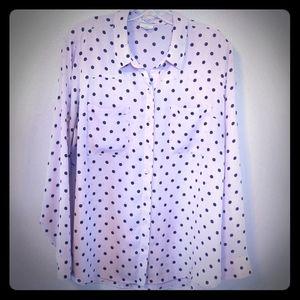 Express Portofino light pink blouse